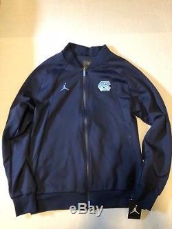 Nike UNC Tar Heels Air Jordan 1 Wings Jacket AJ North Carolina NEW Large Men's
