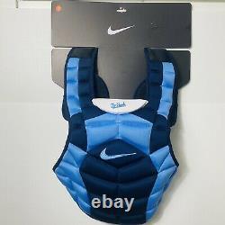 Nike Vapor UNC Tarheels Catchers Chest Protector Baseball/Softball Size15¨ Blue