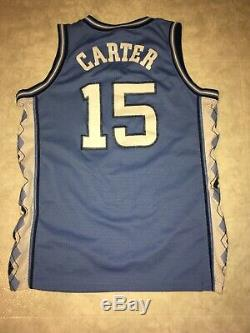 Nike Vince Carter NCAA UNC North Carolina Tar Heels Blue Jersey M Mesh Vintage