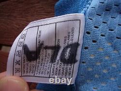 Nike Vince Carter North Carolina UNC Tar Heels Blue Authentic Jersey sz. 48 vtg