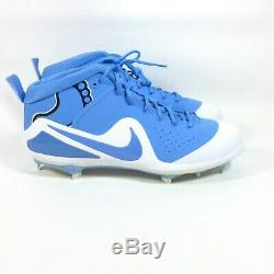 Nike Zoom Trout 4 North Carolina UNC PE Metal Baseball Cleats Tar Heels Size 14
