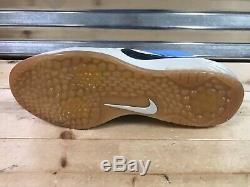 Nike Zoom Trout 4 Turf TF Baseball Shoes Red UNC Tar Heels Blue (917838-440)