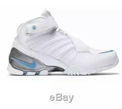 Nike Zoom Vick III UNC Tar Heels Colorway White Blue Men's Size 15 (832698-100)