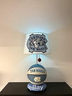 North Carolina Tar Heels Basketball Lamp UNC March Madness Light NCAA