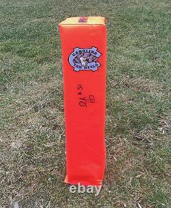North Carolina Tar Heels ELIJAH HOOD Signed Autographed Football Pylon COA! UNC