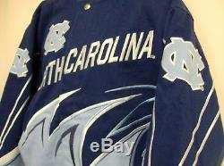 North Carolina Tar Heels UNC Slash Jacket by G- III Adult Large Free Shipping