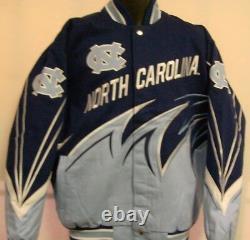 North Carolina Tar Heels UNC Slash Jacket by G- III Adult XL Free Ship