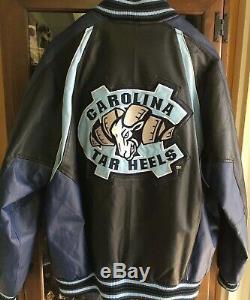 North Carolina UNC Tar Heels 58 Sports Leather Jacket XL