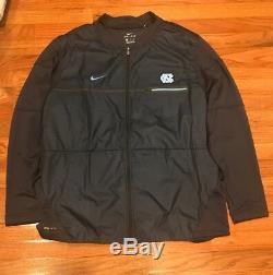 North Carolina UNC Tar Heels Nike Men's Elite Coaches Full Zip Jacket XL NWOT