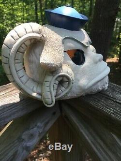 North Carolina UNC Tarheels Ramses Mascot Football Ceramic Figurine Statue