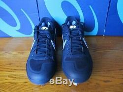 RARE UNC Nike Alpha Huarache Elite PE Carolina Tar Heels 10.5 AV2470 403 Cleats