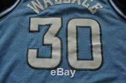 RASHEED WALLACE UNC TAR HEELS Nike Swingman Jersey NBA Sewn Blue NCAA Mens XL
