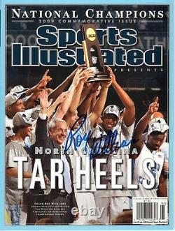 ROY WILLIAMS UNC Tar Heels 2009 Champions SIGNED Sports Illustrated Magazine NL