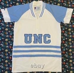 Rare Authentic On Court Champion UNC North Carolina Tar Heels Warm Up Jersey