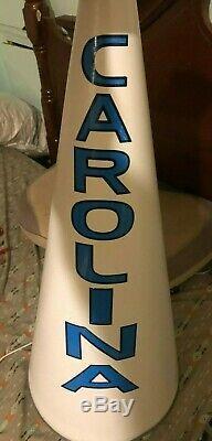 Rare Authentic UNC Cheerleader Megaphone University of North Carolina Tar Heels