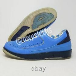 Rare Jordan II 2 Retro Low PROMO UNC Tarheels PE Sz 9 Player Exclusives Shoes