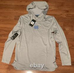 Rare Men's Nike North Carolina Tar Heels UNC Dry Tech Hoodie Medium NWT $150