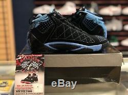 Rare New Air Jordan CP3. II Quickstrike Unc Tar Heels Chris Paul Size 10 2009