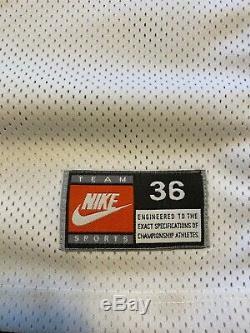 Rare Vintage Nike NCAA UNC North Carolina Tar Heels ED Cota Basketball Jersey