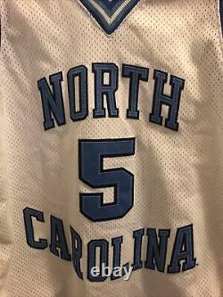 Rare Vintage Nike NCAA UNC North Carolina Tar Heels ED Cota Basketball Jersey 48