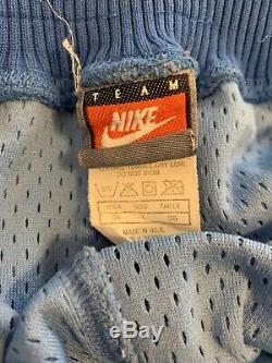 Rare Vintage Nike UNC North Carolina Tar Heels Basketball Shorts