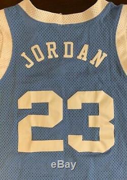Rare Vintage Nike UNC North Carolina Tar Heels Michael Jordan Basketball Jersey