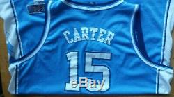 Rare Vintage Nike UNC North Carolina Tar Heels Vince Carter Stitched Jersey 4xl