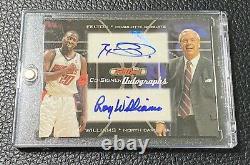 Roy Williams 2006 Topps Full Court Co-Signer Auto withRaymond Felton UNC Tar Heels