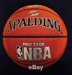 Roy Williams Autographed Spalding NBA Basketball Hall Of Fame UNC Tarheels/ JSA