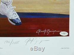 Roy Williams signed UNC North Carolina Tar Heels 2005 NCAA Champs Lithograph