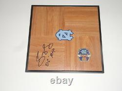 Sean May Signed Framed 12x12 Floorboard North Carolina Tar Heels Unc Proof