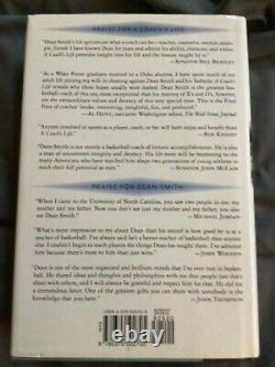 Signed Copy A Coach's Life by Dean Smith (1999, Hardcover) UNC Tar Heels