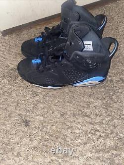 Size 10.0 Jordan 6 Retro Tar Heels, UNC 2017