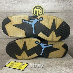 Size 10.5 Jordan 6 Retro Tar Heels, UNC 2017