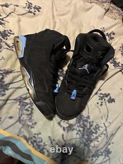 Size 10 Jordan 6 Retro Tar Heels, UNC 2017
