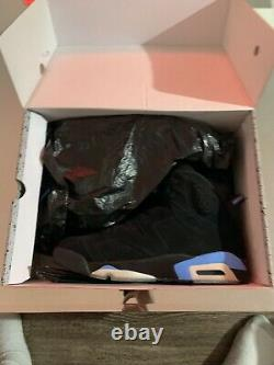 Size 11.5- Jordan 6 Retro Tar Heels, UNC 2017