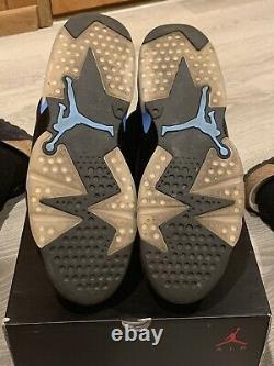 Size 11.5 Jordan 6 Retro Tar Heels, UNC 2017