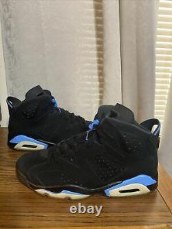 Size 12 Jordan 6 Retro Tar Heels, UNC 2017