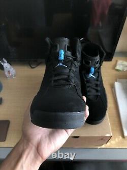 Size 13 Jordan 6 Retro Tar Heels UNC 2017PERFECTLY LACEDSHIPS FREE