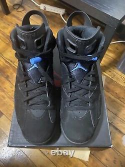 Size 13 Jordan 6 Retro Tar Heels, UNC 2017