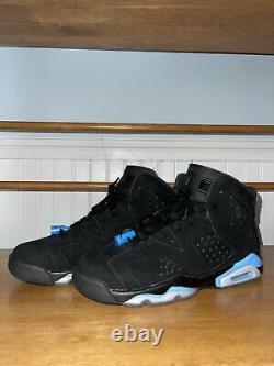 Size 6.5 Jordan 6 Retro Tar Heels, UNC 2017