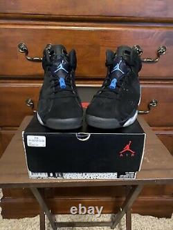 Size 8 Jordan 6 Retro Tar Heels, UNC 2017