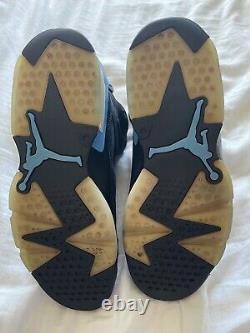 Size 9 Jordan 6 Retro Tar Heels, UNC 2017
