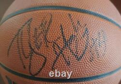 TYLER HANSBROUGH Signed Basketball NCAA UNC NORTH CAROLINA TARHEELS PACERS