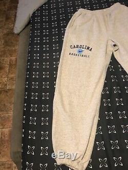 Team Issue UNC Tar Heels Basketball vintage sweatpants XL 95-97 team
