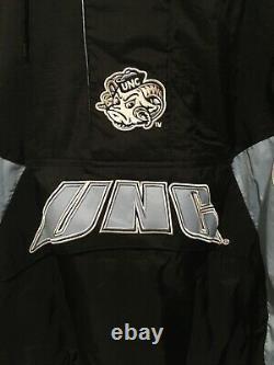UNC North Carolina TAR HEELS Hooded STARTER CHAMPIONSHIP Jacket Pullover 2X XXL