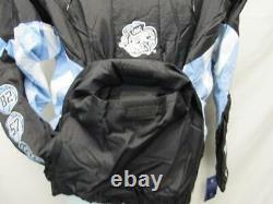 UNC North Carolina Tar Heels Mens S-M-L-XL-2XL Hooded Coat Starter Jacket $160