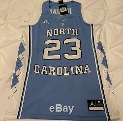 UNC North Carolina Tar Heels Michael Jordan 23 Stitched Basketball Jersey Nike M