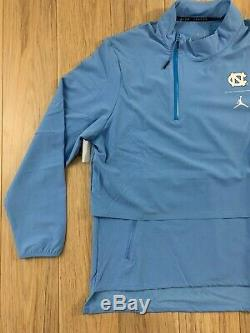 UNC North Carolina Tar Heels Nike Jordan 23 Shield 1/4-Zip Jacket NWT Sz XL