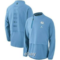 UNC North Carolina Tar Heels Nike Jordan 23 Tech 1/4-Zip Jacket Medium NWT $180